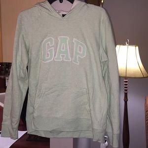 Light Green Gap sweatshirts